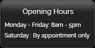 Opening Hours - York Road Garage, Wiberfoss, N Yorkshire